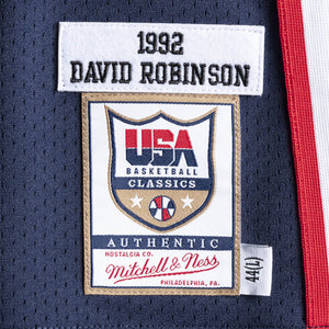 DAVID ROBINSON #5 1992 TEAM USA JERSEY