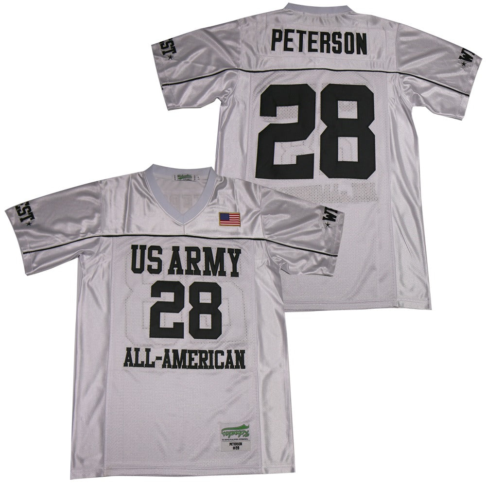 ADRIAN PETERSON #28 U.S. ARMY ALL-AMERICAN BOWL JERSEY