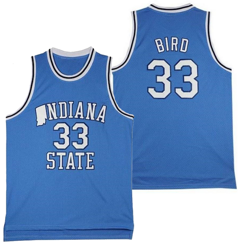 LARRY BIRD #33 INDIANA STATE JERSEY