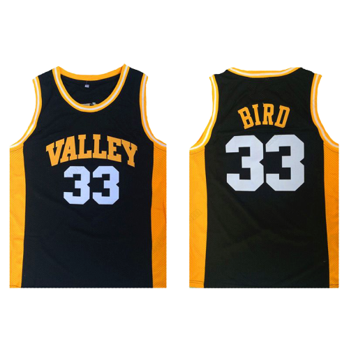 LARRY BIRD #33 VALLEY HIGH SCHOOL JERSEY