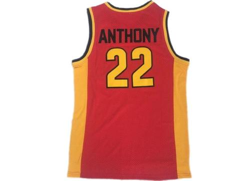 CARMELO ANTHONY #22 OAK HILL HIGH SCHOOL JERSEY