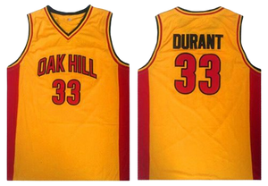 KEVIN DURANT #33 OAK HILL HIGH SCHOOL JERSEY
