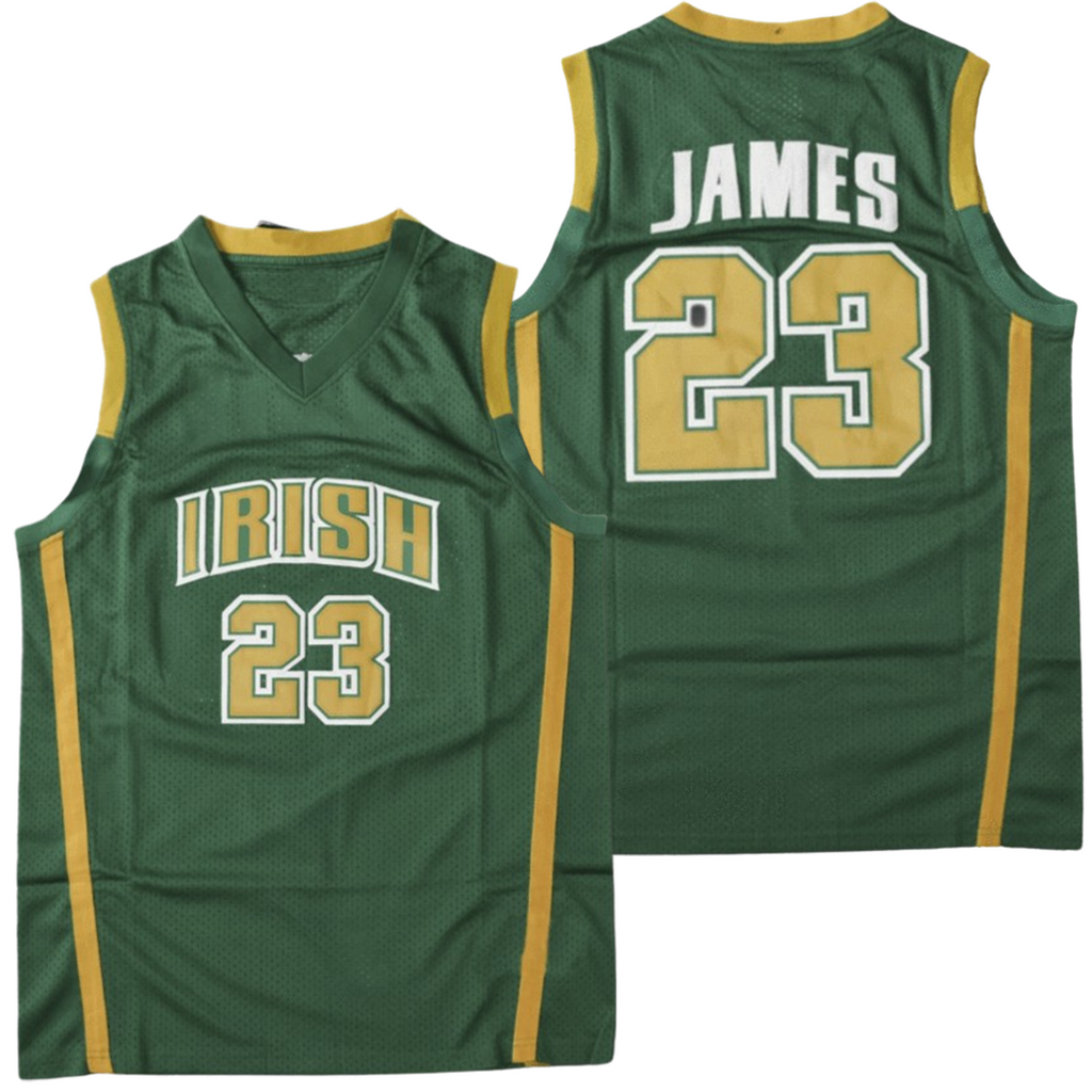 LEBRON JAMES #23 ST. VINCENT-ST. MARY HIGH SCHOOL JERSEY