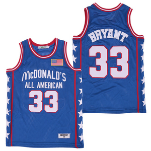 KOBE BRYANT #33 MCDONALD'S ALL-AMERICAN GAME JERSEY