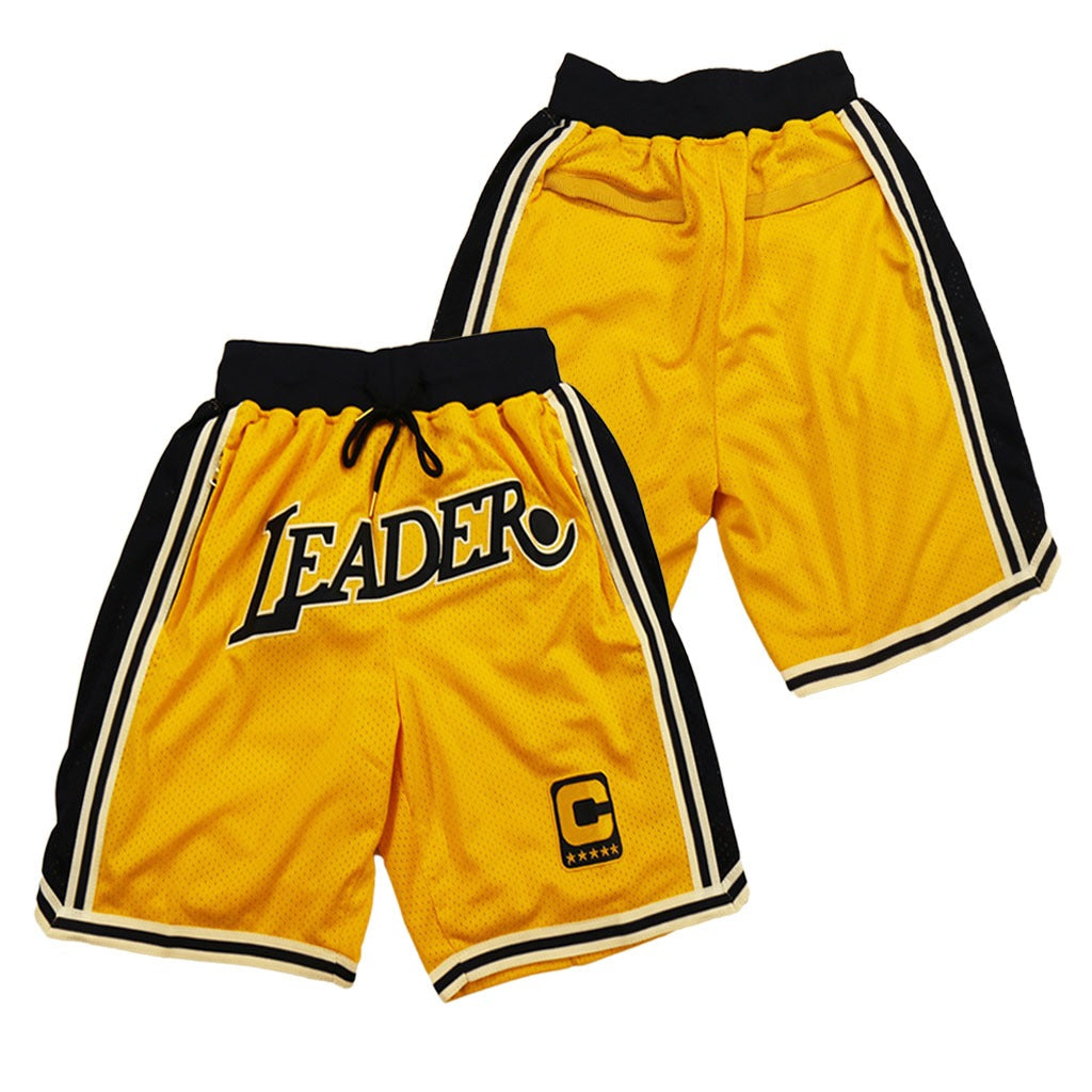 "LEBRON JAMES ""LEADER"" SHORTS"
