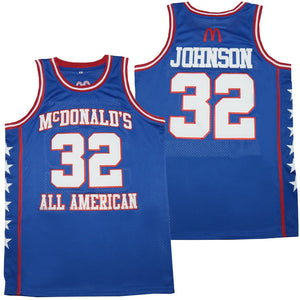 MAGIC JOHNSON #32 MCDONALD'S ALL-AMERICAN GAME JERSEY