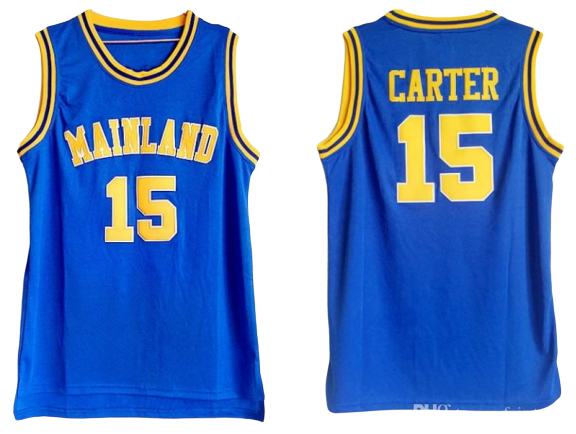 VINCE CARTER #15 MAINLAND HIGH SCHOOL JERSEY