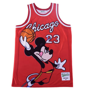 MICKEY MOUSE #23 CHICAGO BULLS JERSEY