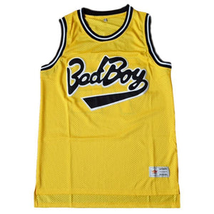 NOTORIOUS B.I.G. BIGGIE SMALLS #72 BAD BOY JERSEY