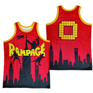 RAMPAGE THE VIDEO GAME #0 JERSEY