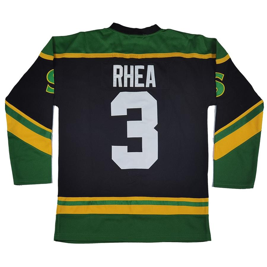 "ROSS ""THE BOSS"" RHEA #3 ST. JOHN'S SHAMROCKS JERSEY"
