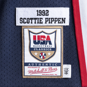 SCOTTIE PIPPEN #8 1992 TEAM USA JERSEY