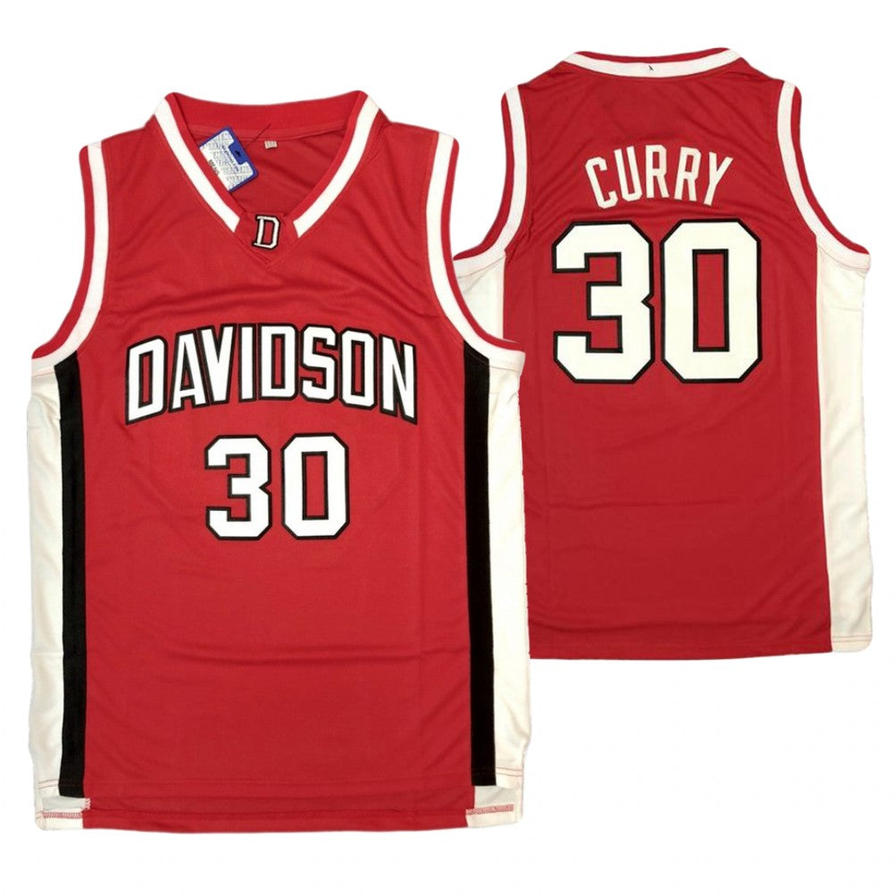 STEPHEN CURRY #30 DAVIDSON NCAA JERSEY