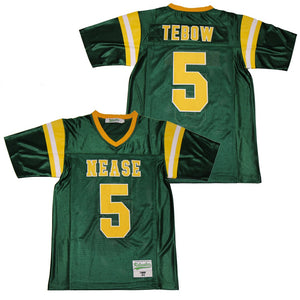 TIM TEBOW #5 NEASE PANTHERS HIGH SCHOOL JERSEY