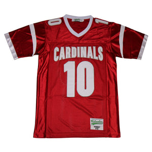 MITCHELL TRUBISKY #10 MENTOR CARDINALS HIGH SCHOOL JERSEY
