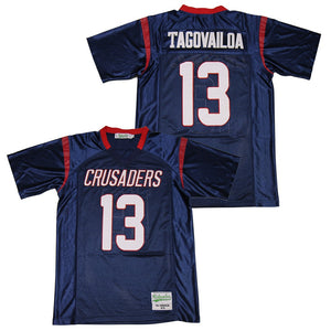 TUA TAGOVAILOA #13 SAINT LOUIS CRUSADERS HIGH SCHOOL JERSEY