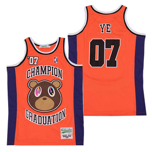 KANYE WEST #07 GRADUATION ALBUM JERSEY