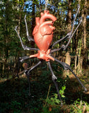 Antomaical Heart Spider Sculpture