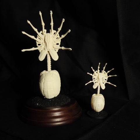 Parasitoid (Facehugger) Skeleton Replica Figurine