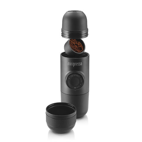 Image of Handheld Espresso Coffee Machine | Portable Minipresso GR | Compatible Ground Coffee | Coffee Maker For Travel