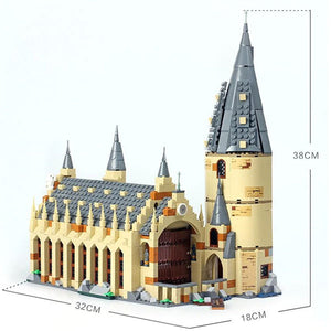 Harry Potter Hogwarts Great Hall | Harry Potter Series Building Blocks Brick | Educational Toys | For Children Kids Gifts | Compatible Legoing 75954