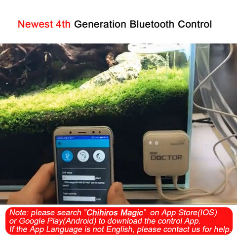 Image of 4th Generation Bluetooth Chihiros Doctor | Algae Remove | Twinstar Aquarium Accessories | Shrimp Aquarium Cleaner | Tank Cleaning Tools
