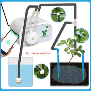 BLUEKIEE™ Intelligent Garden Automatic Watering Device | Succulents Plant Drip Irrigation Tool | Mobile Phone Control | Water Pump Timer System