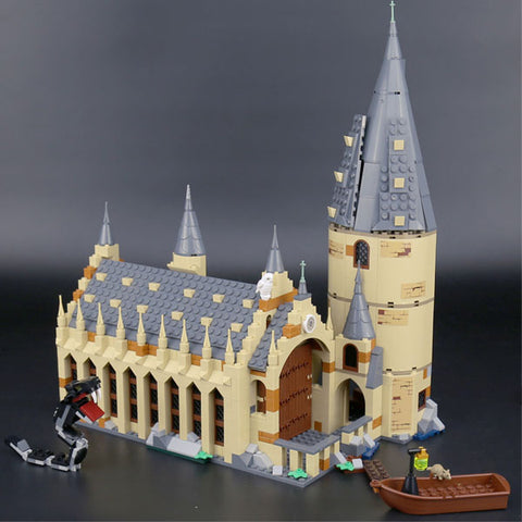 Image of Harry Potter Hogwarts Great Hall | Harry Potter Series Building Blocks Brick | Educational Toys | For Children Kids Gifts | Compatible Legoing 75954