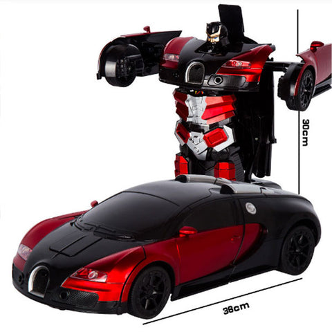 2.4G Induction Deformation RC Cars | Transformation Robot Car Toy | Light Electric Robot Models Toys | for Children Gifts