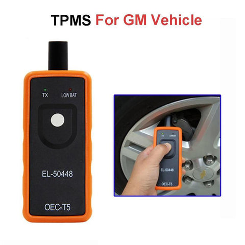 Image of BLUEKIEE™ Auto Tire Pressure Monitor Sensor TPMS Relearn Reset Activation Tool OEC-T5 for GM Series Vehicle