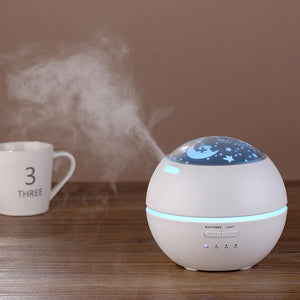 Ultrasonic Aromatherapy Diffuser | Flower Aroma Diffusers | Cool Mist Humidifier | for Office Home Bedroom Living Room