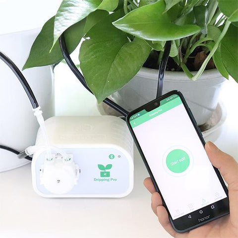 Image of BLUEKIEE™ Intelligent Garden Automatic Watering Device | Succulents Plant Drip Irrigation Tool | Mobile Phone Control | Water Pump Timer System