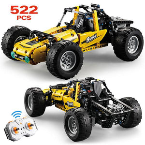 BLUEKIEE™ RC All Terrain Trucks Car |  2.4Ghz City Technic Remote Control Racing Car | Building Blocks Bricks Toys | For Kids Gifts | 522pcs