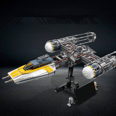 2019 Star Wars War Y-wing Fighter | STAR WARS Building Blocks Bricks Sets | Classic Model Kids Toys