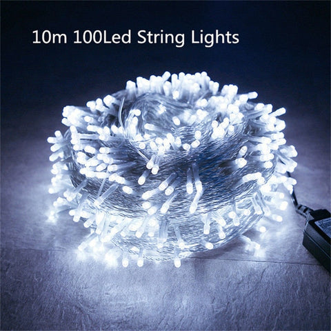Image of Romantic 10m 100 LED String Lights | New Year Decoration Lights | Christmas Decoration Light | Christmas Tree Decorations Light