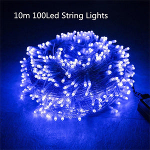 Romantic 10m 100 LED String Lights | New Year Decoration Lights | Christmas Decoration Light | Christmas Tree Decorations Light