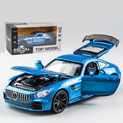 Image of Camaro 1:32 High Simulation Alloy Diecast Car Model | Pull Back Sound Light Collection Car Toys | for Children's Christmas Gifts
