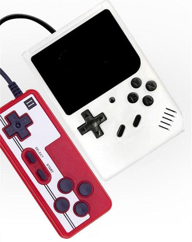 DIGITBLUE® 400 IN 1 Game Player Mini Handheld Portable Retro Console  8 Bit Built-in Gameboy 3.0 Inch Color LCD Screen Game Box