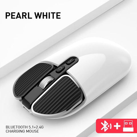 Image of DIGITBLUE® Bluetooth 5.1+2.4G Wireless Dual Mode Rechargeable Mouse Optical USB Gaming Computer Charing Mause PC Mouse for Mac ipad Android