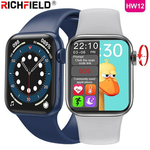DIGITBLUE® 2021 HW12 Smart Watch 1.57inch 40mm Bluetooth Call Password Split Screen Custom Picture Smartwatch Men Women PK IWO W26 W46 W56