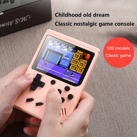 DIGITBLUE® Retro Handheld Video Games Console Built-in 500 Classic Games 3.0 Inch Screen Portable 8 Bit Gaming Player Mini Pocket Gamepads