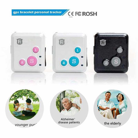 Image of RF-V16 Mini GSM GPRS GPS Tracker SOS Communicator  for Kids Child Elderly Personal lifetime web APP Tracking Two-way Talk