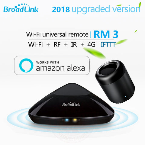 2018 Upgraded Version Broadlink RM3 RM mini3 RM2 Pro Smart Home Automation WIFI+IR+RF+4G Universal Controller for iOS Android