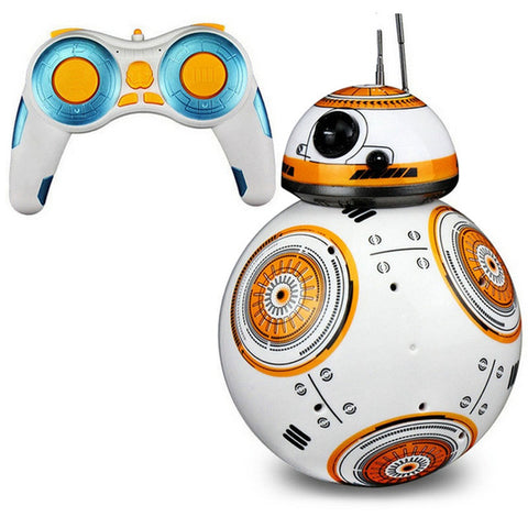 Image of RC Robots Ball toys BB-8 remote control Star War toy BB8  smart wars car Action Figure Intelligent Ball Toys For bos kids gift
