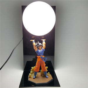 Best Dragon Ball Z Led Light Lamp | Super Son Goku Spirit Bomb Night Lights | Lampara Led Dragon Ball