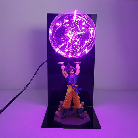 Image of Best Dragon Ball Z Led Light Lamp | Super Son Goku Spirit Bomb Night Lights | Lampara Led Dragon Ball