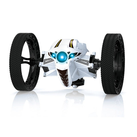 Image of RC Bounce Car PEG RH803 2.4G Remote Control Toys Jumping Car with Flexible Wheels Rotation RC Robot LED Light Kid Gift