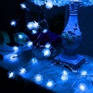 3M 20 LED EID Mubarak Natal String Fairy Light | Navidad Christmas Tree LED Lights | Outdoor Garland Christmas Decorations Light | for Home Party