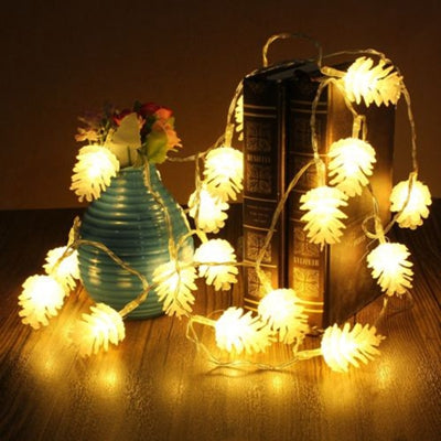 Image of 3M 20 LED EID Mubarak Natal String Fairy Light | Navidad Christmas Tree LED Lights | Outdoor Garland Christmas Decorations Light | for Home Party