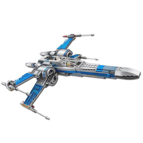 05145 05004 05029 legoinglys 75218 75149 75102 Star fighter First Order Poe's X Wing Fighter Wars Building Blocks Bricks